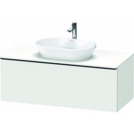 Duravit D-Neo, meuble-lavabo mural, largeur 1200 x profondeur 550mm, 1x coulissant, avec poignée, DE49490, Coloris: Décor blanc mat - DE494901818