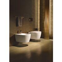 Combinaison WC autonome Duravit ME by Starck, lavable, avec HygieneGlaze, fixation comprise, pour réservoir de chasse en saillie, 4,5 l, 370 x 650 mm - 2170092000