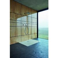 Receveur de douche latéral Bette Floor Side 3377, 180x90cm, Coloris: corbeau - 3377-400