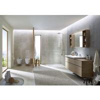 Geberit iCon, set WC suspendu avec siège WC, sans rebord, faible débit, saillie réduite, forme fermée, 6l, 500814 - 500.814.00.1