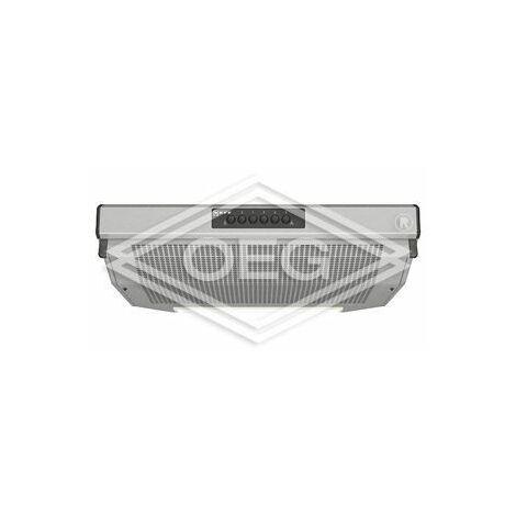 Neff DEB1612 N, hotte, inox l:60cm, max.380m³/h, filtre métallique