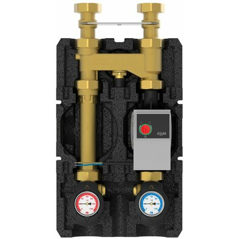 HeatBloc K36E DN25 +50 °C Wilo Yonos Para RS 25 / 6