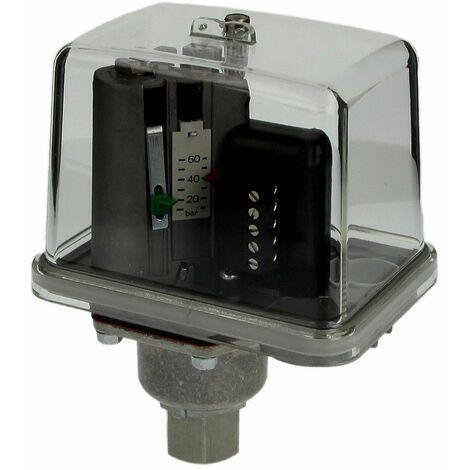"""Pressostat MDR-F 60HH-S 8 - 60 bar, G 3/8"""" FF, IP54"""