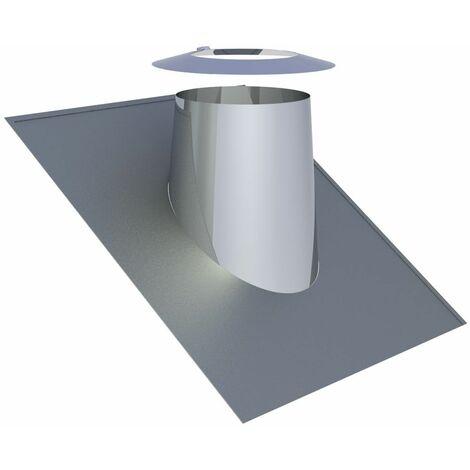 Solin de toit 26-35° inox