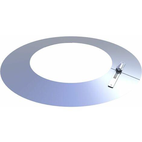 Collerette de solin inox Diam 200 mm