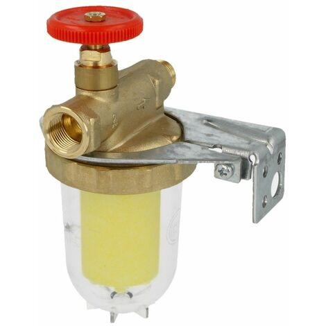 Oventrop Filtre fioul monotube Oilpur Siku avec vanne d'arrêt