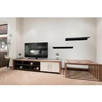 Black Glass Floating Shelves Shelf Bathrooms Kitchens Living Rooms (120cm)