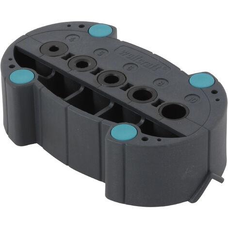 Longueur de 86mm Wolfcraft 7538010 1 Foret /à m/étaux HSS Meul/é /ø 5,1mm