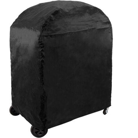 Azuma Bandit BBQ Cover Barbecue Smoker Protector Heavy Duty Black Weatherproof