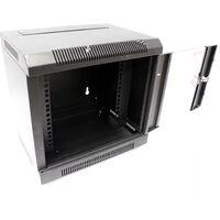 RackMatic - Server rack cabinet 10 inch 4U 370x280x260mm wallmount TENRack by RackMatic