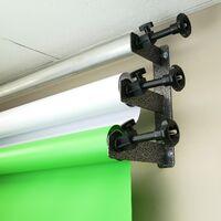 BeMatik - Roller tube crossbar for photo studio background support system 3m