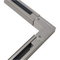 BeMatik - Rail union elbow fitting ceiling light rail via 3-gray