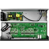 """BeMatik - PoE switch IEEE802.3af IEEE802.3at 10/100 Mbps for 19"""" rack with 24 PoE + 2 SFP"""