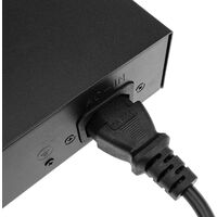 BeMatik - PoE Switch 10/100Mbps IEEE802.3af/at 2 UTP ports and 8 PoE ports