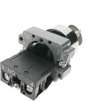 BeMatik - Rotary selector switch 22mm with latching 10A 400V 2-position with key