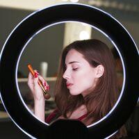 BeMatik - Circular LED ring 16 cm 9.6 W 6500 K