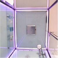 Cabine douche Hammam Archipel® Pro 120D (120x90cm) - 2 places