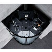 Cabine douche Hammam Archipel® QDR 80C BLACK