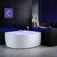 Baignoire balneo d'angle ELIXIR 360 Archipel® 150x150