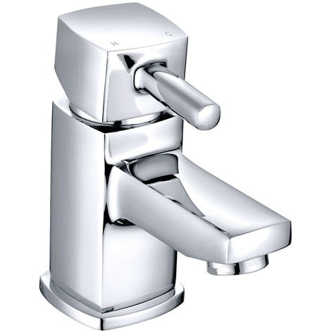 Cloakroom Basin Sink Mixer Tap Chrome Modern Bathroom Faucet