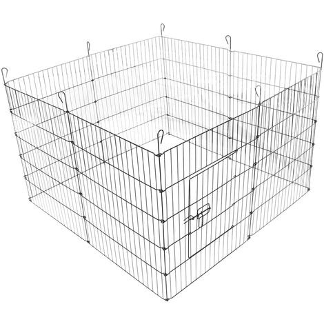 """8 Panel Pet Puppy Playpen Folding Dogs Cats Rabbits Run Cage 24"""""""