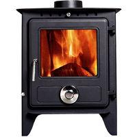 Lincsfire Reepham MultiFuel Fireplace Stove 8KW High Efficiency Log Burner Wood Burning WoodBurner