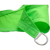 Greenbay Sun Shade Sail Garden Patio Party Sunscreen Awning Canopy 98% UV Block Square Light Green 2x2m