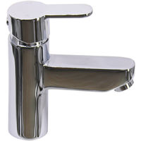 Bathroom Single Lever Faucet Chrome Basin Sink Mixer Tap