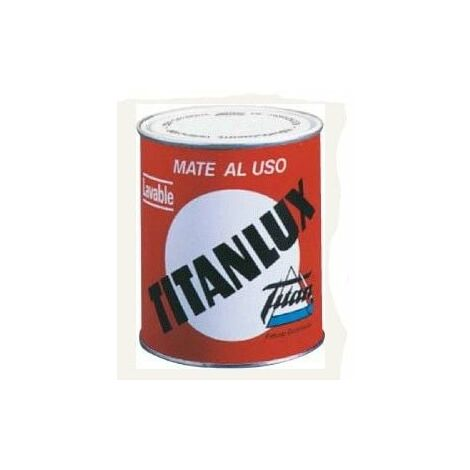Pintura Sintet Lavable Mate Titanlux Al Uso Blanco 016034534