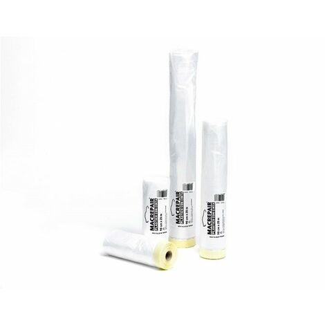 Plastico Prot C/cinta 35 Cm X 22,5 Mt Macrepair