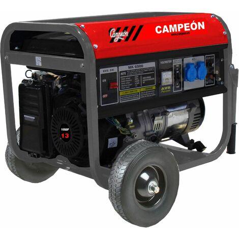 Generador Gasolina 13 Cv 5kva 25lt Mk6500 Campeon