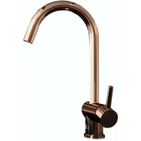 Schon Aaron C spout copper kitchen mixer tap