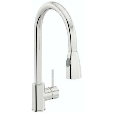 Schon Barra pull out kitchen mixer tap