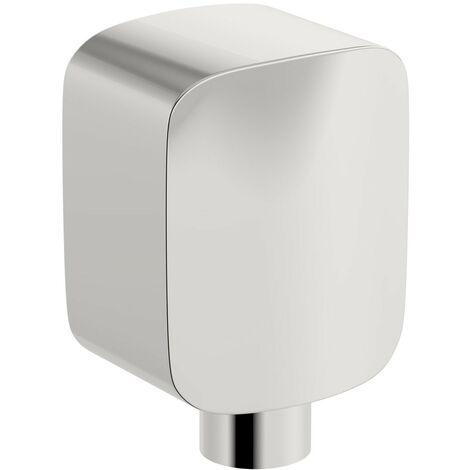 Mode Square brass wall shower outlet