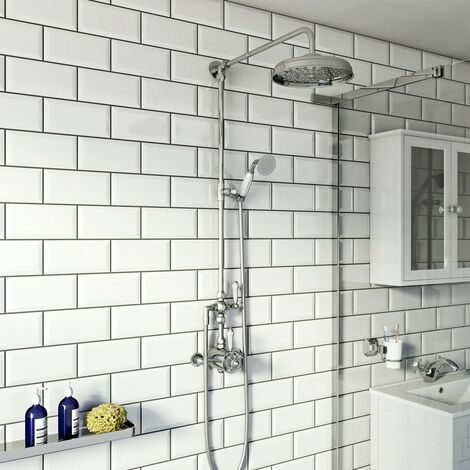 Orchard Dulwich riser shower system