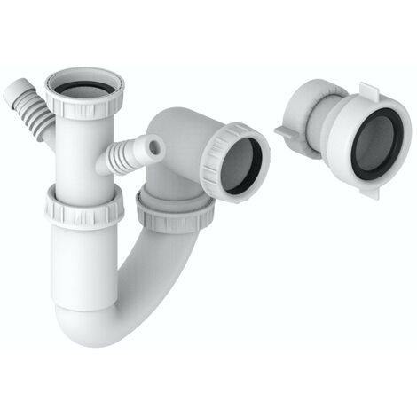 Schon universal kitchen sink singular bowl plumbing kit