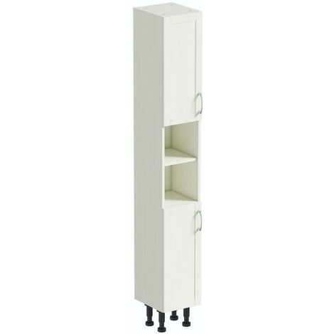 Reeves Newbury white tall storage unit 1990 x 300mm