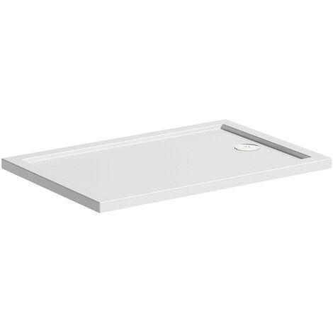 Mira Flight Safe low level anti-slip rectangular shower tray 1700 x 700