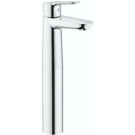 Grohe BauEdge high rise vessel basin smooth body basin mixer tap