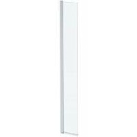 Mode 8mm wet room hinged return panel
