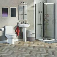Orchard Balance complete pivot shower enclosure suite 900 x 760