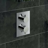 Mode Harrison thermostatic mixer shower with wall shower head 200mm shower head