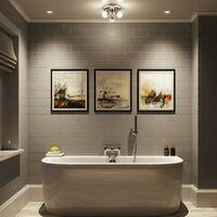 Forum Mesic 3 light round bathroom ceiling spot light
