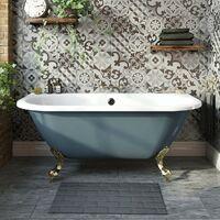 The Bath Co. Dalston antique bronze wall mounted bath mixer tap