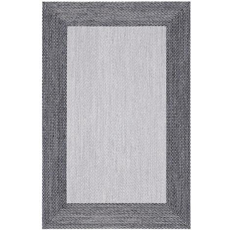 Alfombra vinílica Deblon, antideslizante y muy resistente, para interior y exterior, Marrón, 80 x 150cm