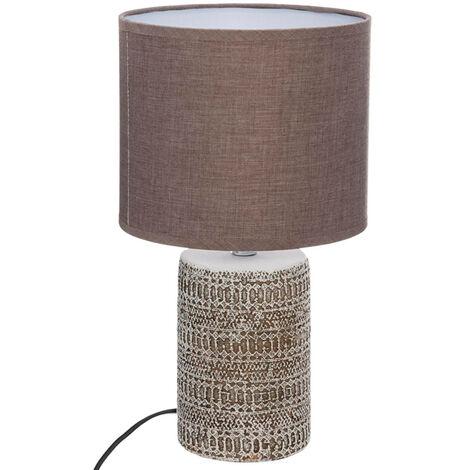 Lámpara sobremesa de hormigón Betón Color TAUPE