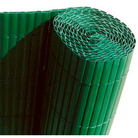 Cañizo PVC doble cara verde 12mm Medidas 1.0X5M