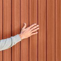 Cobertizo de madera/PVC marrón 4x6 Darwin Keter