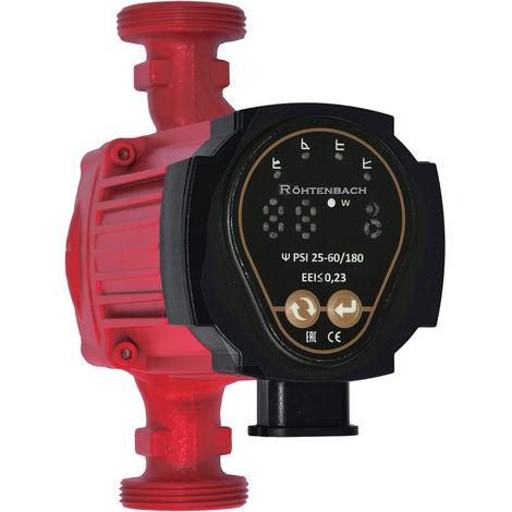 Circulateur électronique Rohtenbach 25–60/180 pompe pour chauffage central grande efficacité