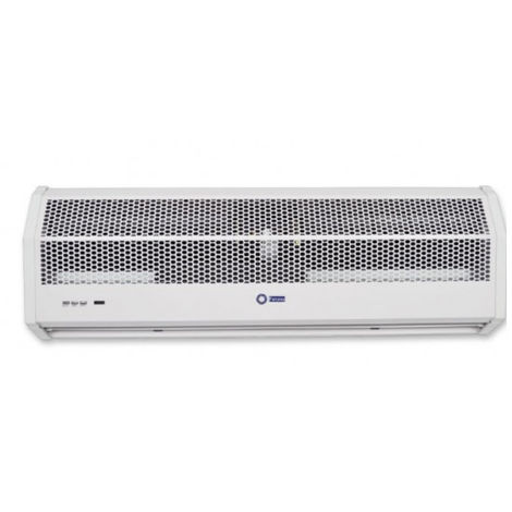 Rideau d'air électrique 120 cm 230V 8 KW horizontal avec fonction de chauffage